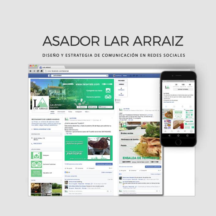 Proyectos RRSS - Lar Arraiz