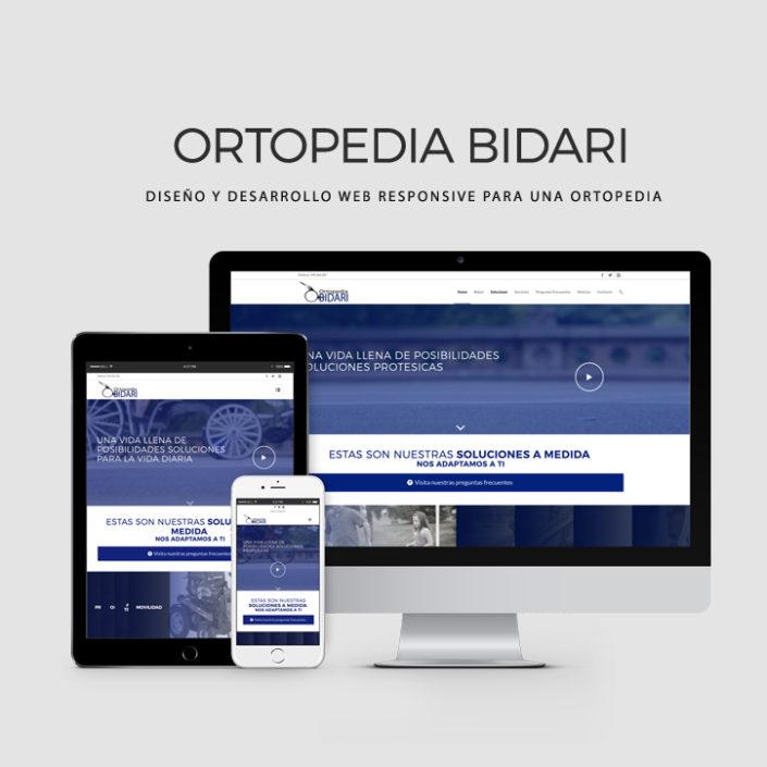 Proyectos WEB - Ortopedia Bidari
