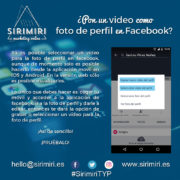 Pon un video como foto de perfil en Facebook