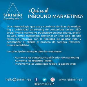 Inbound marketing - Sirimiri