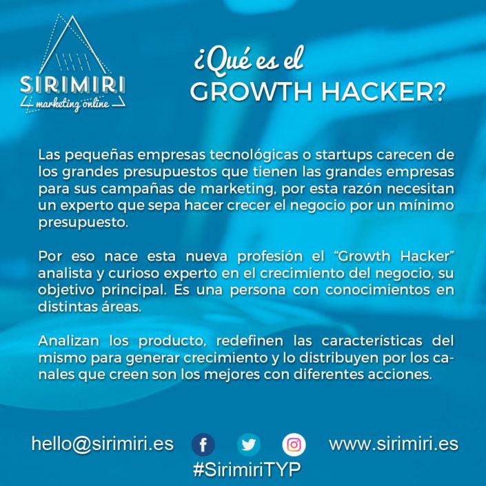 ¿Qué es el Growth Hacker?