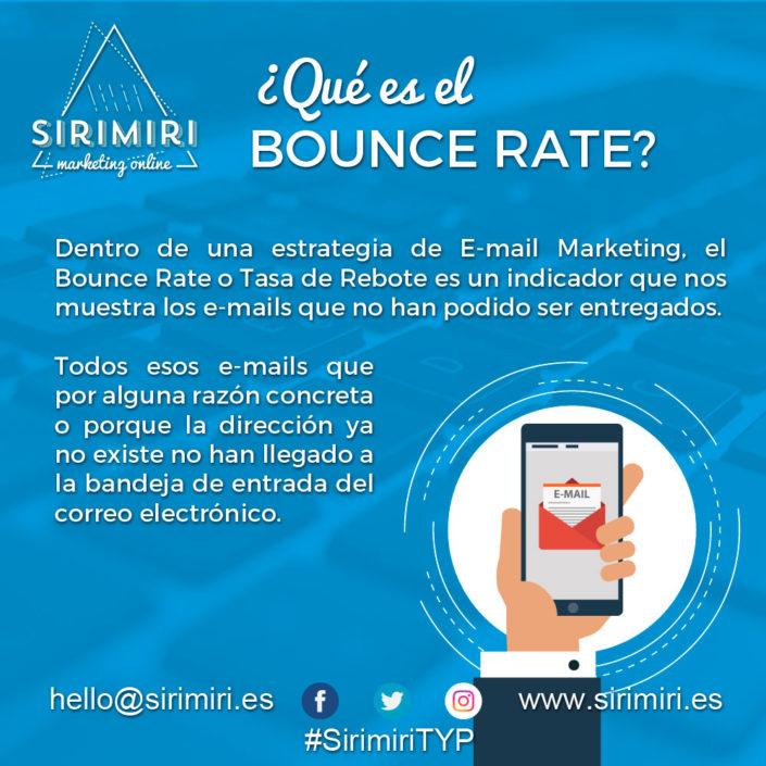¿Qué es el Bounce Rate?
