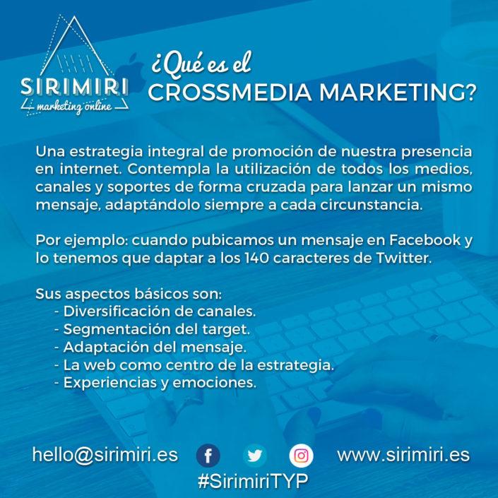 ¿Qué es el Crossmedia Marketing?