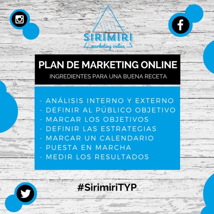 Ingredientes para un Plan de Marketing Online