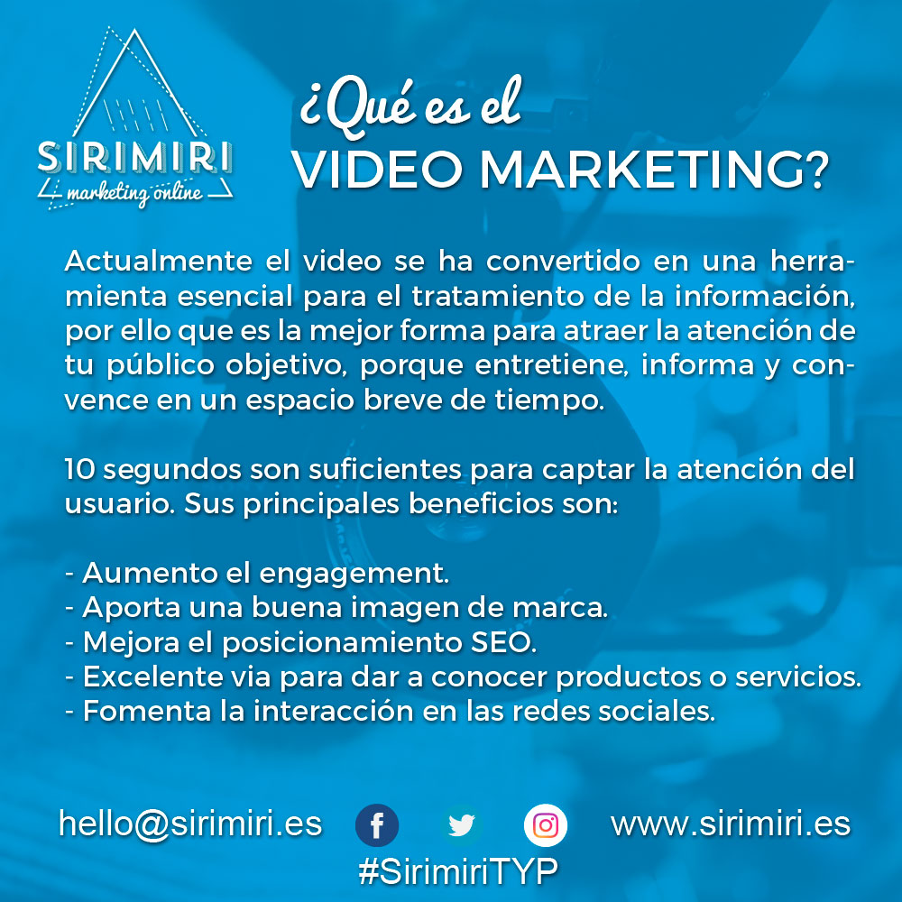 ¿Qué es el Video Marketing?