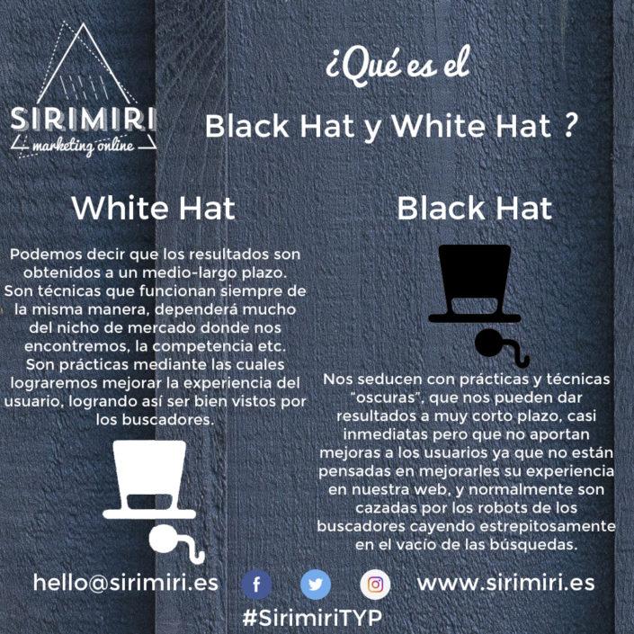 Black hat y White hat - Sirimiri