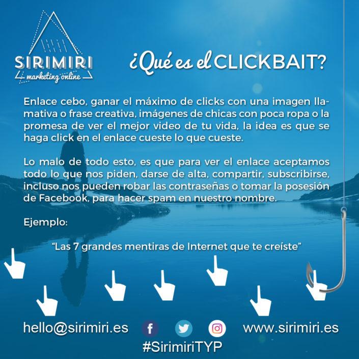¿Qué es el Clickbait?