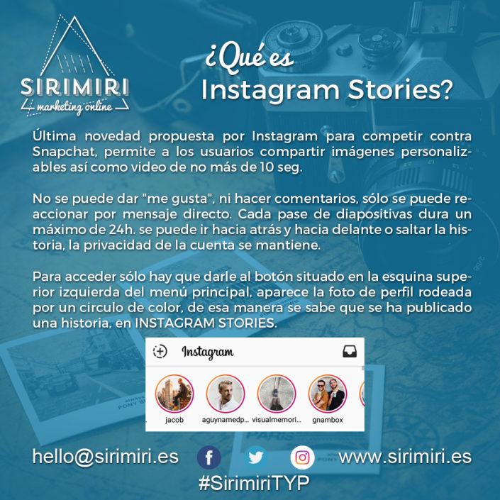 Instagram Stories - Sirimiri