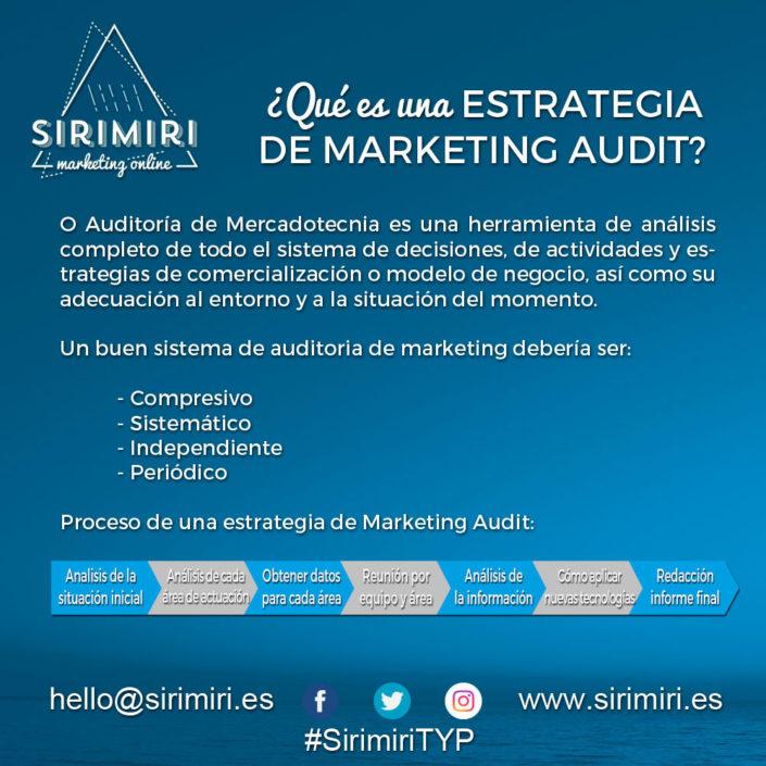 ¿Qué es una estrategia de Marketing Audit?