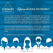 ¿Qué es el Lead Scoring?